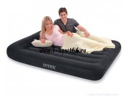 Intex Надувной матрас Pillow Rest Classic Bed 137x191x30 (66768)