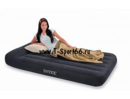 Intex Надувной матрас Pillow Rest Classic Bed 99x191x30 (66767)