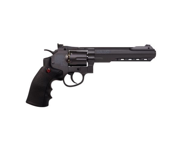 Пневматический револьвер Crosman SR357 Black 4,5 мм