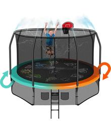 Батут Clear Fit FamilyHop 12Ft