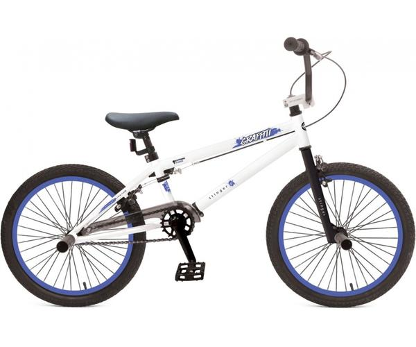 "Велосипед 20"" STINGER Graffitti 2019 (U-brake, 20BMX.GRAFFIT.10WT9, белый)"
